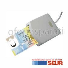 LECTOR DE DNI ELECTRONICO TARJETAS INTELIGENTES USB 2.0 BLANCO
