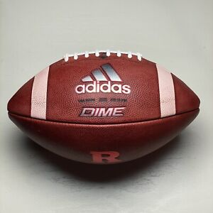 Rutgers Scarlet Knights Game Issued Adidas Dime NCAA Football University Big Ten