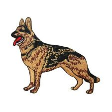 ID 2763 German Shepherd Dog Puppy Breed Embroidered Iron On Applique Patch