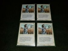 MTG 4x Revised white uncommon HP Italian FBB Swords to Plowshares