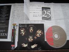 Queen 2 Japan Mini LP CD with OBI Phone Card Paper Sleeve CD Freddie Mercury II