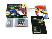 Star Fox 64 (Nintendo 64, 1997) Box Manual Near Complete CIB N64 w/Rumble Pak