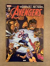 Marvel Action Avengers #10 First Appearance Of Yellow Hulk Main Cover A IDW 2020