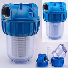 Pré-filtre Filtre à Eau 1'' - 3000 L/H Pompe Canalisation Domestique