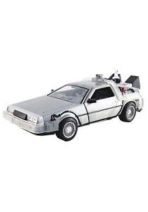 Back to the Future Time Machine Delorean 1:24 Scale Die-Cast