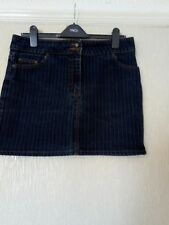 Ladies ETAM black miniskirt size 14