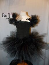Girls Black or White Swan Witch Halloween costume Tutu dress Fancy dress