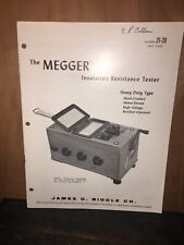The Megger Insulation Resistance Tester, Bulletin May 1966.