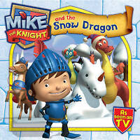 """""""AS NEW"""" Mike the Knight and the Snow Dragon, Simon & Schuster UK, Book"""