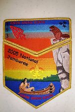 Oa Ashwanchi Kinta Lodge 193 Choctaw Gmy Rainbow Beaver 2005 Jamboree Delegate