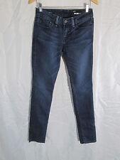 William Rast Womens Low Rise Jerri Skinny Stretch Dark Wash Jeans Size 26x33 #71