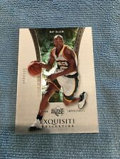 2004-05 EXQUISITE COLLECTION RAY ALLEN #37 /225