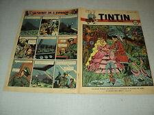 TINTIN 1947/28 (10/7/47) EDGAR P JACOBS LE SECRET DE L'ESPADON HERGE