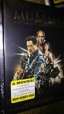 The Mummy Ultimate Collection: Complete Box set 4 Movies -- Free Shipping.