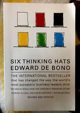 Six Thinking Hats by Edward de Bono (1999, Paperback, Revised)