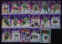 1991-92 Score American Minnesota North Stars Team Set 21 Hockey Cards W/ Traded