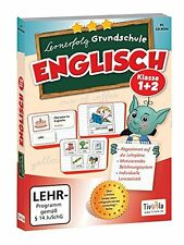Lernerfolg Grundschule: Englisch Klasse 1+2, Tivola Lernsoftware PC, NEU/OVP