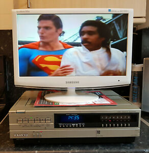 Sanyo VTC-5000 Betamax Video Recorder - Fully Reconditioned -New Belts Fitted