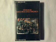 STORMY SIX Macchina maccheronica mc cassette k7 RARISSIMA VERY RARE!!!