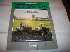 Deutz-Allis 6240 6250 6260 Tractor Advertising Brochure