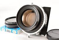 【MINT】 Fuji Fujinon W 300mm F5.6 Lens Copal 3 Shutter PL Filter from JAPAN 526Y