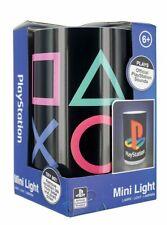 PLAYSTATION 1 2 3 4 Lampada Logo mini light CONSOLE vintage controller PS4 PS1 2