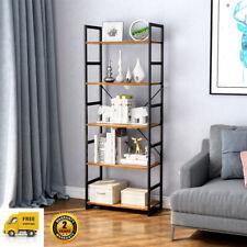 5-Layer Bookshelf Bookcase Organizer Box Plant Holder Storage Shelving Unit Rack