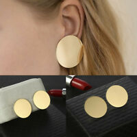 Fashion Womens Gold Geometric Dangle Drop Statement Ear Stud Earrings Jewelry