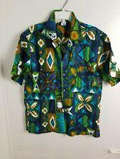 Vintage Made In California Hawaiian Shirt Surfing Aloha Shirt