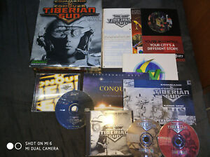 Command And Conquer Tiberian Sun Platinum Edition big box complete w/soldier