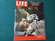 New listing Nov 11, 1956-Life magazine- Arab- Israeli War