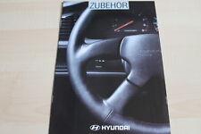 118355) Hyundai Pony + Lantra - Zubehör - Prospekt 03/1994