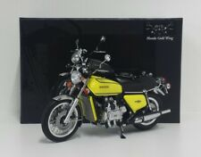 MINICHAMPS 1/12 MODELLINO DIE CAST MOTO HONDA GOLDWING GL 1000 K3 1975 GIALLO