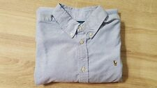 kids ralph lauren casual button down shirt XL 18-20