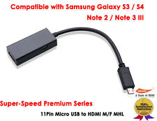 For Samsung Galaxy S3/S4/S5/Note 2/Note 3/Note 8.0/Note 10.1 - MHL 2.0 to HDMI