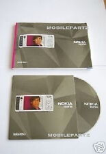 GENUINE NOKIA N95 ENGLISH USER MANUAL GUIDE & CD ROM