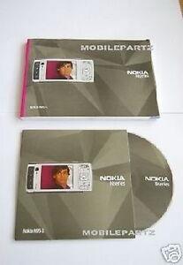 Original Nokia N95 englische Bedienungsanleitung Handbuch & CD Rom