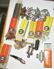 Lot Of Vintage Rectifier Capacitors & other items for Radio Cb'S & Televisions