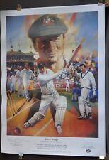 Steve Waugh, Australian Cricket Captain, Signed Cricket Memorabilia.