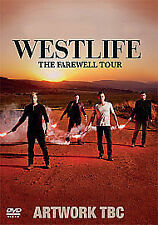 Westlife - The Farewell Tour - Live At Croke Park (DVD, 2012) New And Sealed