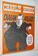 CHARLIE HEBDO N°178 15/04 1974 WOLINSKI CAVANNA CHORON REISER GEBE WILLEM CABU