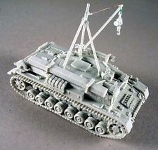 Milicast G155 1/76 Resin PzKfw IV Ausf H/J Bergerpanzer in Zimmerit