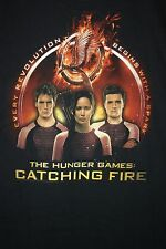 The Hunger Games Catching Fire Edwards Theartres Santa Maria T-Shirt Large