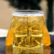 Creative 3D Star Wars Darth Vader Glass Cup Water Whiskey Beer Mug Drinkware