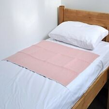 "Quick Dry Washable Bed Protector – 75 x 90 cms,29½"" x 35½"" , with tuck in Flaps"