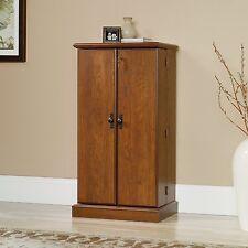 Sauder 418651 Orchard Hills Multimedia Storage Cabinet Milled Cherry Finish New