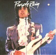 "PRINCE  Purple Rain PICTURE SLEEVE 7"" 45 rpm record + juke box title strip NEW"