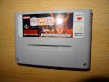 Jeux vidéo manuels inclus allemands pour Nintendo SNES