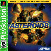 🔥 Asteroids Playstation PS1  Complete CIB