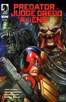 Predator vs. Judge Dredd vs. Aliens (Dark Horse) #4A 2017 NM